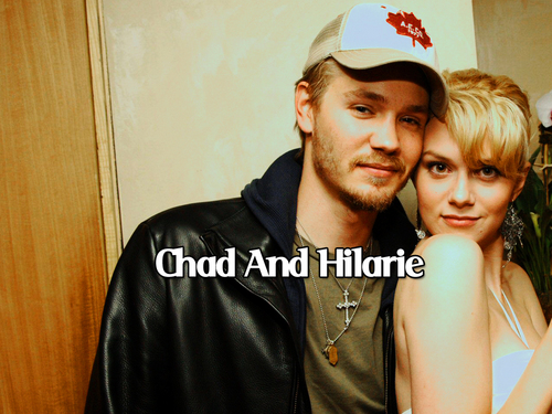 Chad and Hilarie wallpaper possibly with a portrait called Chilarie <3