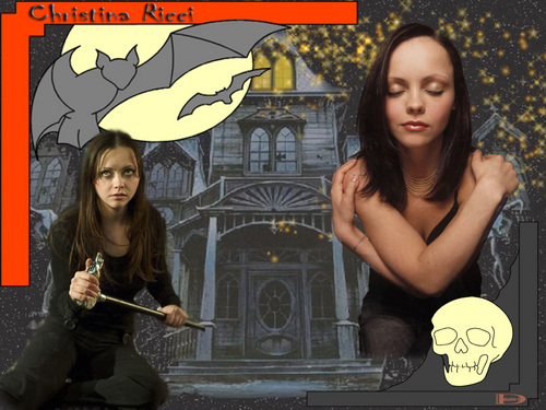 Christina Ricci wallpaper possibly containing anime titled Christina Ricci
