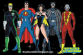 Crime Syndicate America - dc-comics fan art