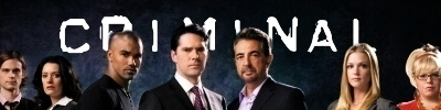 Criminal Minds Banner