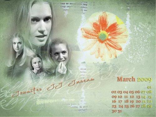 Criminal Minds Calendar - March