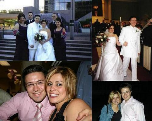 Danny Gokey wallpaper containing a bridesmaid, a bouquet, and a business suit titled Danny & Sophia