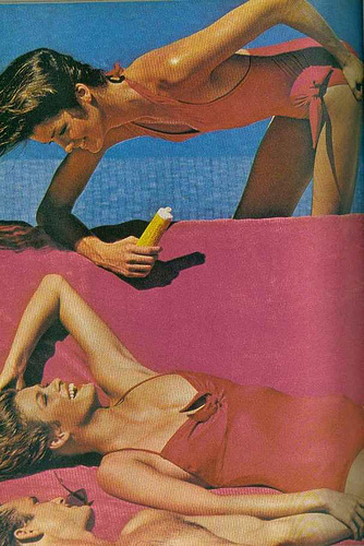 Gia Carangi and Janice Dickenson