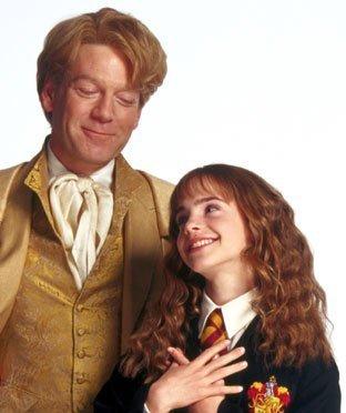 Gilderoy Lockhart & Hermione Granger