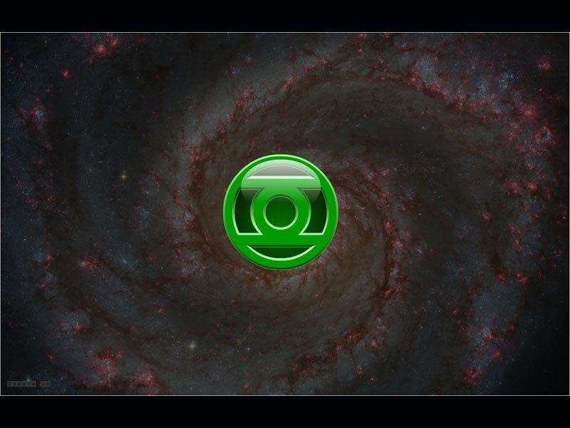 Apple Logo IPhone Wallpaper Green Lantern