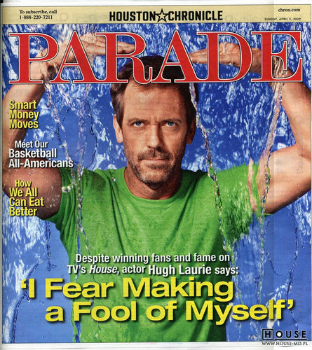 Hugh Laurie: skany Parade Magazine