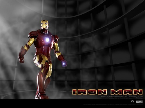 Iron Man Hintergrund titled Iron Man