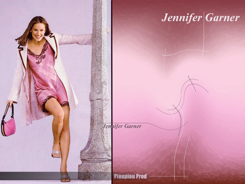 Дженнифер Гарнер Обои with a коктейль dress entitled Jennifer Garner