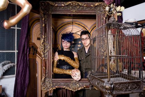 Jhonen Vasquez & Zoetica Ebb