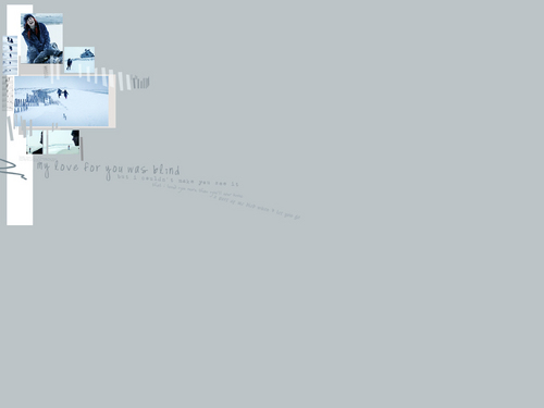 Eternal Sunshine 바탕화면 entitled Joel & Clementine