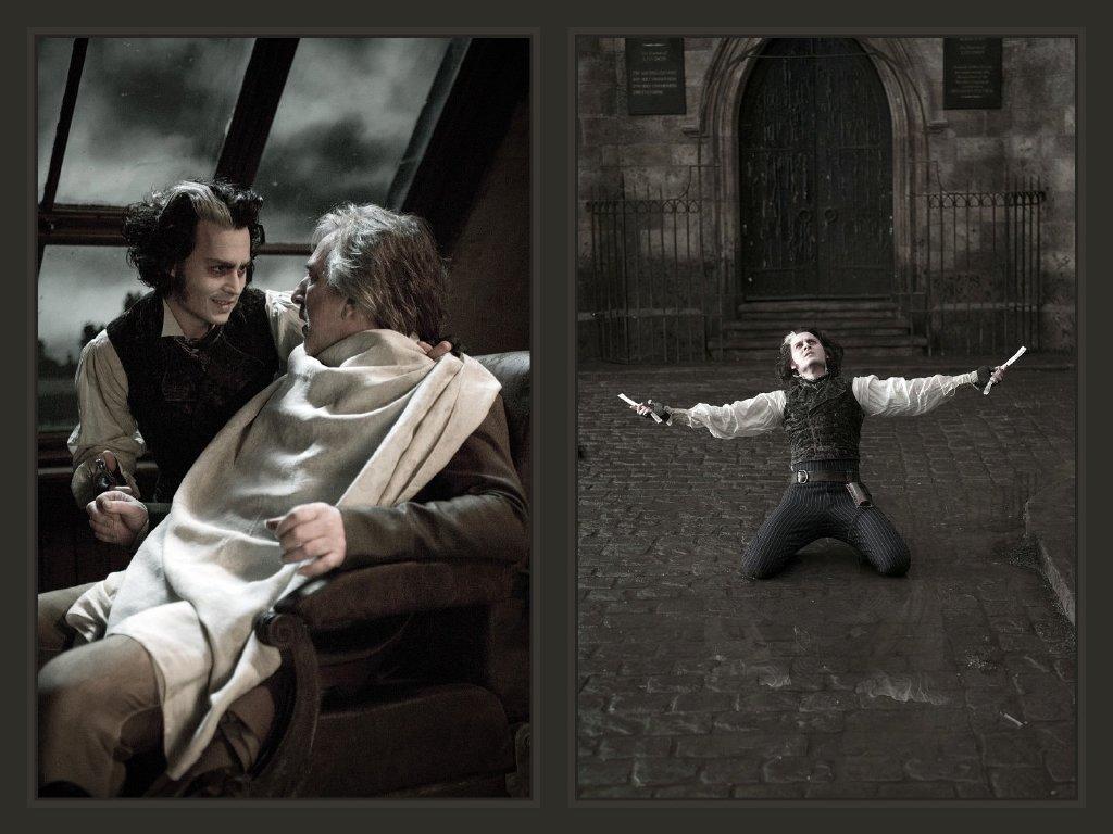 Johnny As Sweeney Todd Johnny Depp Fondo De Pantalla