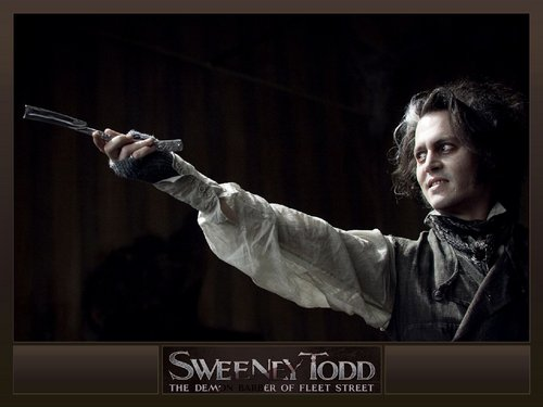 Johnny as Sweeney Todd