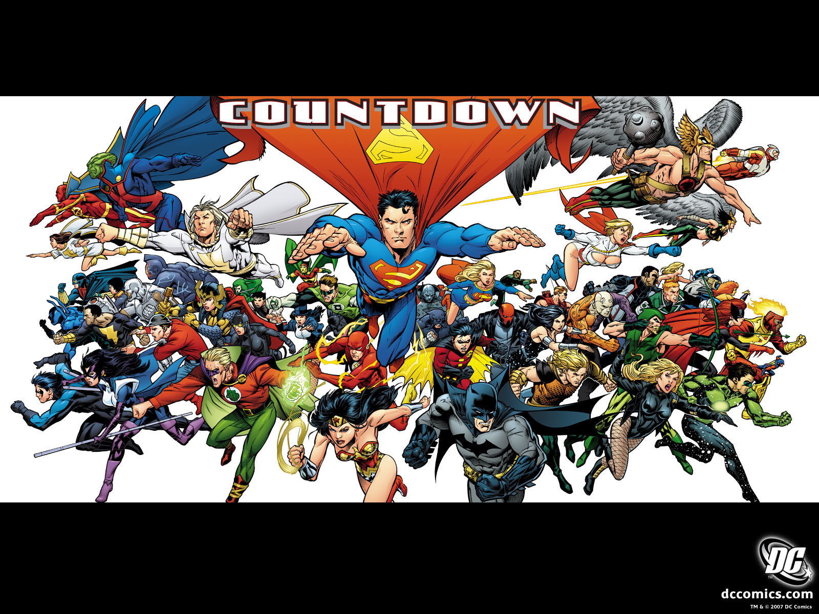Dc comics justice league countdown