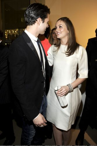 Leighton and Sebastian on Parsons Fashion Benefit (HQ)
