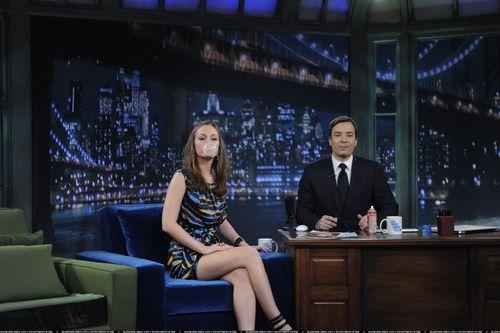 Leighton on Jimmy Fallon (HQ)