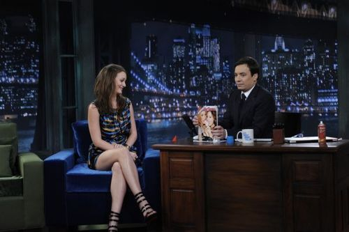 Leighton on Jimmy Fallon