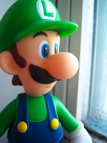 Luigi fondo de pantalla titled Luigi