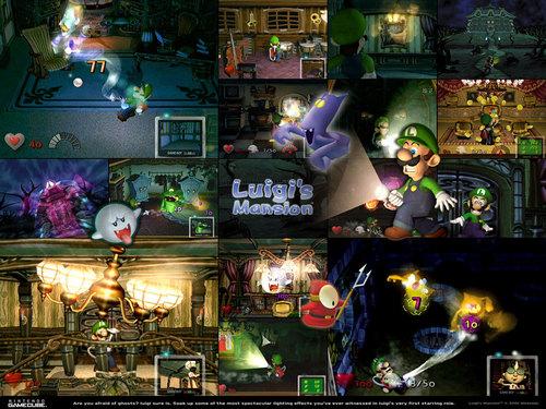Luigi wallpaper titled Luigi's Mansion