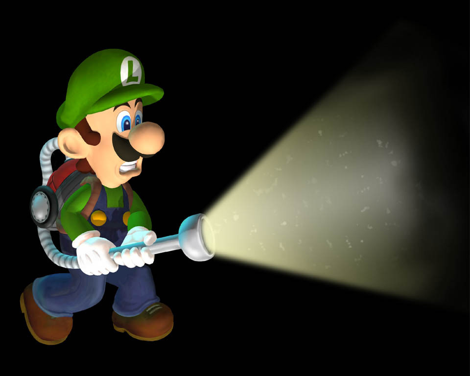 Luigis Mansion Wallpaper