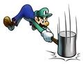 Luigi with Hammer