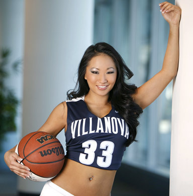 WWE Divas wallpaper with a basketball, a dribbler, and a basketball player called March Madness - Gail Kim