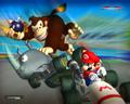 Mario Kart karatasi la kupamba ukuta