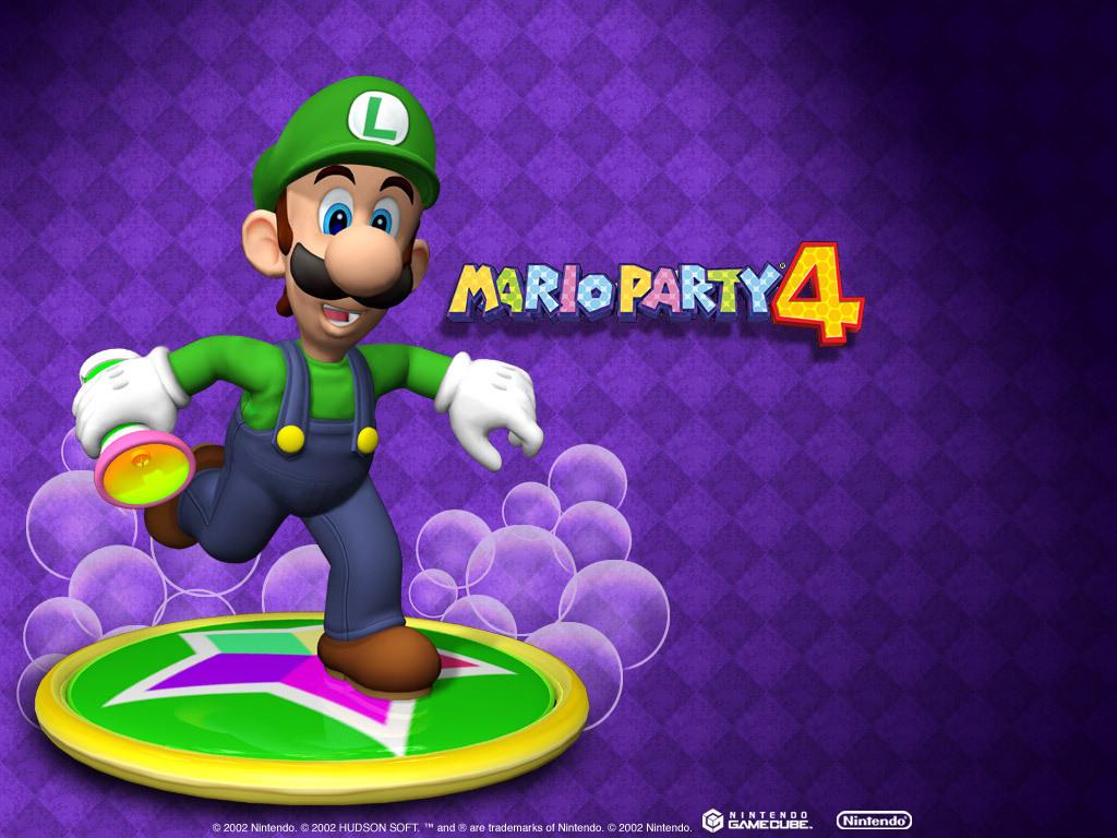Mario party 4 luigi wallpaper 5320444 fanpop - Luigi mario party ...