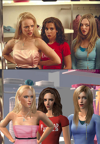 Mean Girls - Sims2