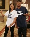 Melanie Barnett and Derwin Davis