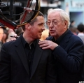 Michael Caine and Christian Bale