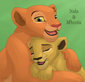 Nala & Mheetu - the-lion-king photo