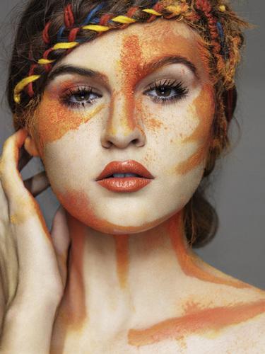 Natalie - оранжевый