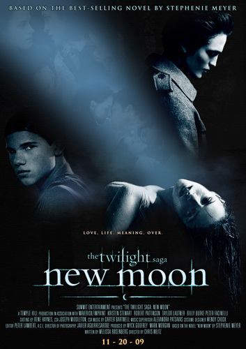 New Moon Фан Poster