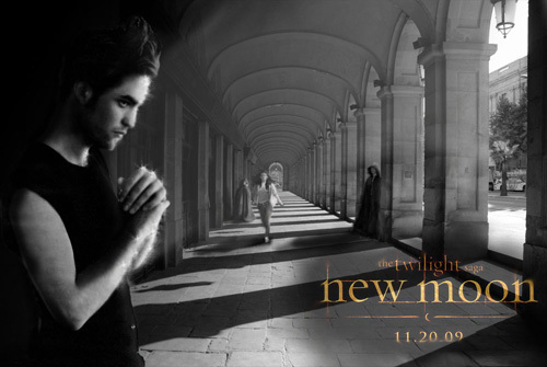 New Moon پرستار Poster