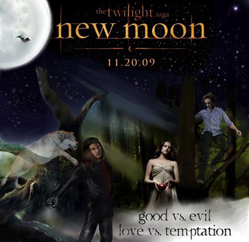 Twlight the fool movie new moon