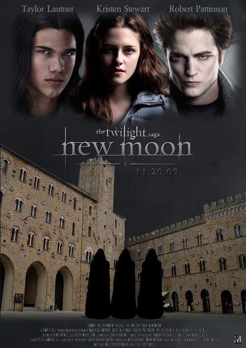New Moon Fan Poster
