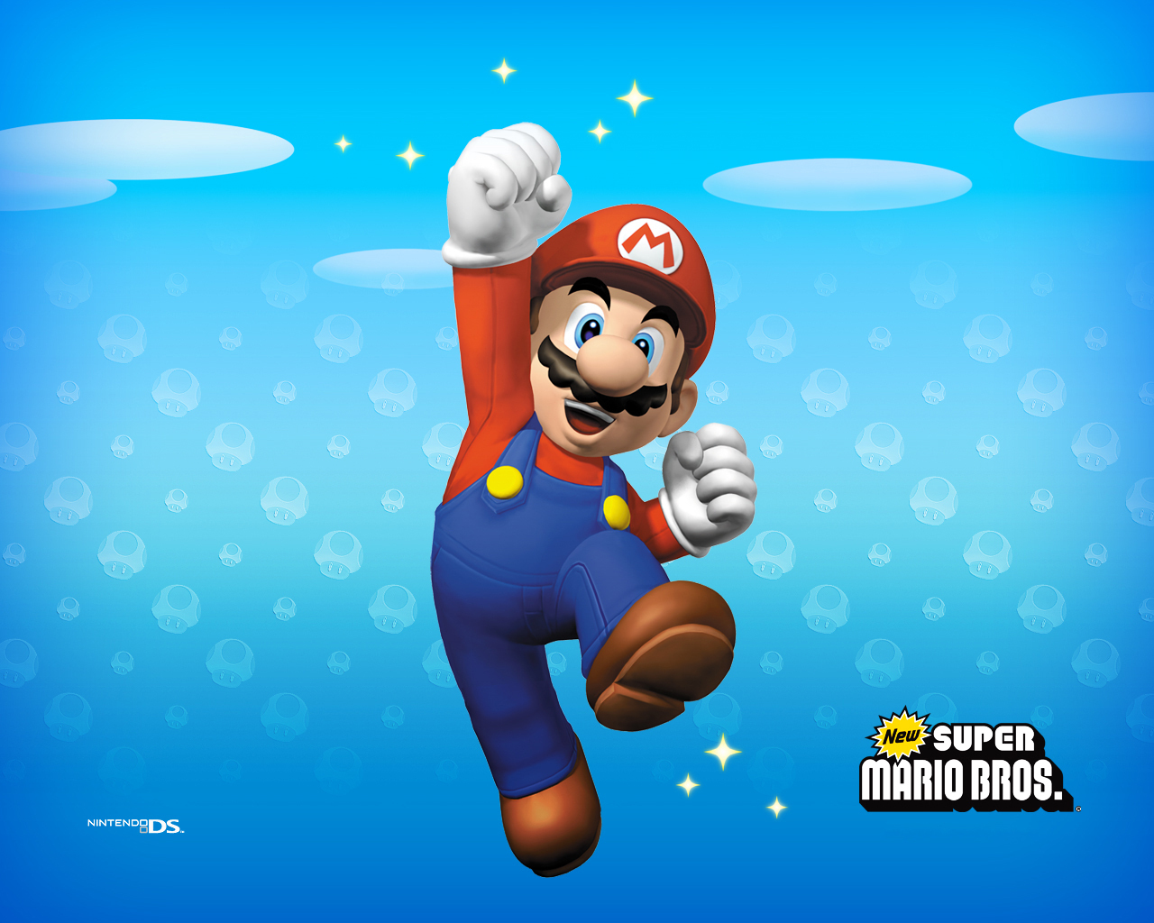 Super Mario Bros. New Super Mario Brothers Wallpaper