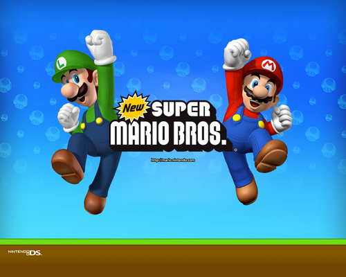 super mario bros wallpaper called New Super Mario Brothers wallpaper