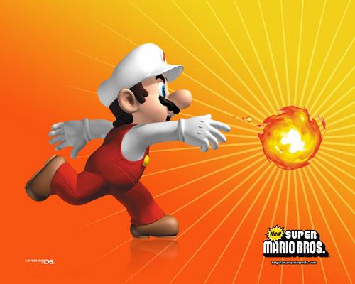 New Super Mario Brothers Hintergrund