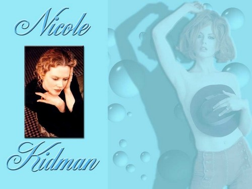 Nicole Kidman karatasi la kupamba ukuta possibly containing a portrait and anime called Nicole Kidman