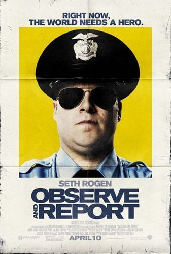 Observe and reportar Movie Poster
