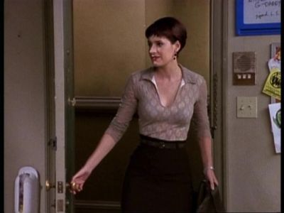 "Paget Brewster wallpaper entitled Paget on ""Friends"""