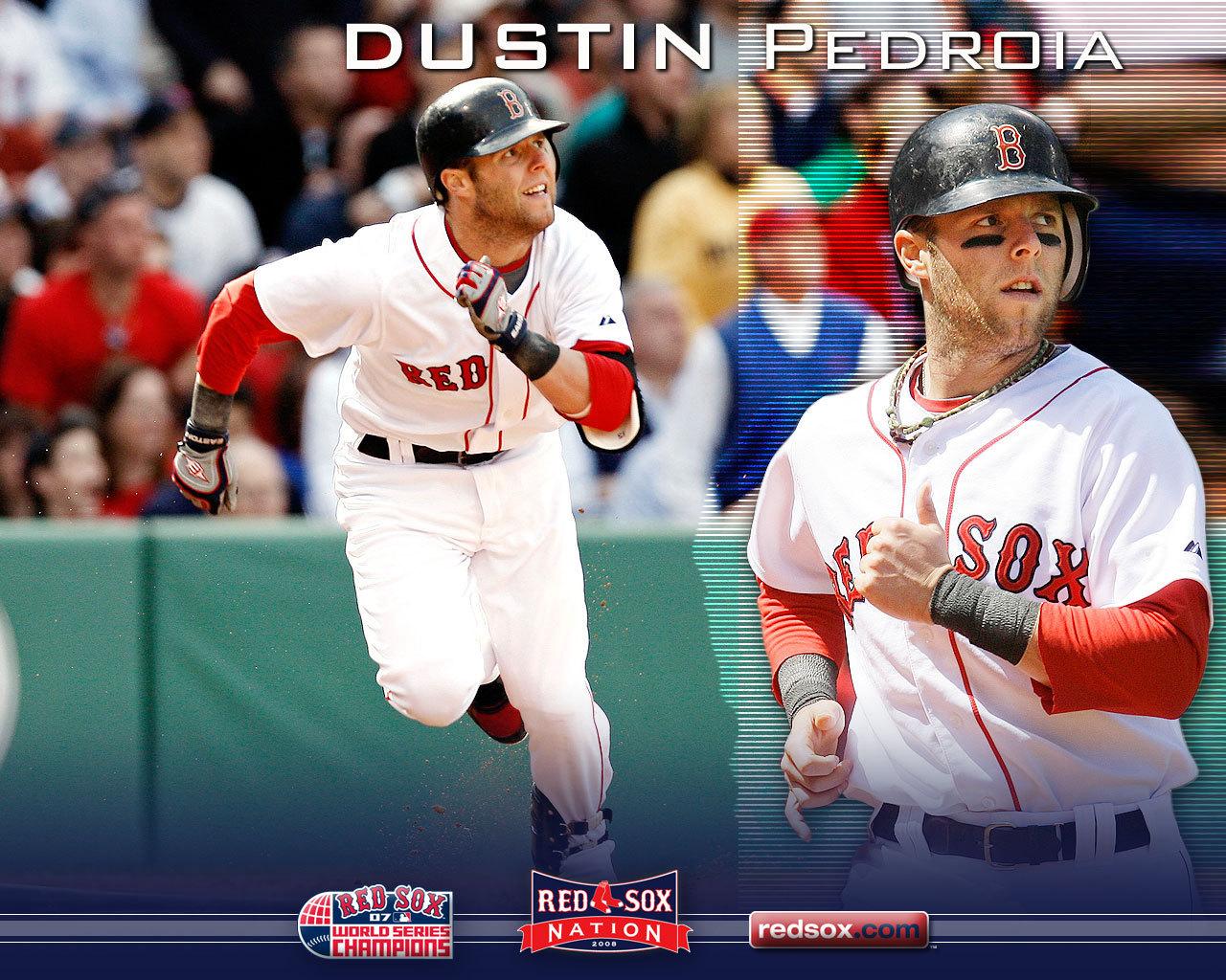 Pedroia - Boston Red Sox 1280x1024