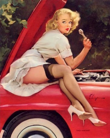Pin Up - pin-up-girls Photo