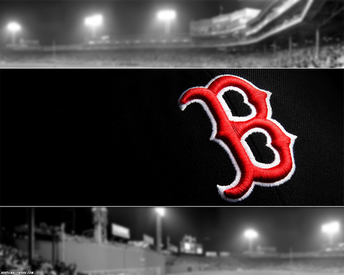 Boston Red Sox Wallpaper Probably With A Street Business District And Multiplex