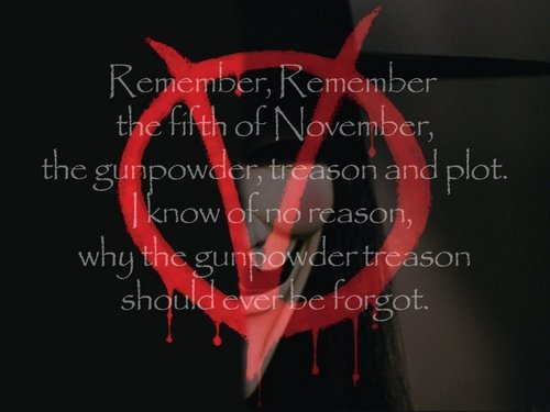 V for Vendetta wallpaper titled Remember, Remember