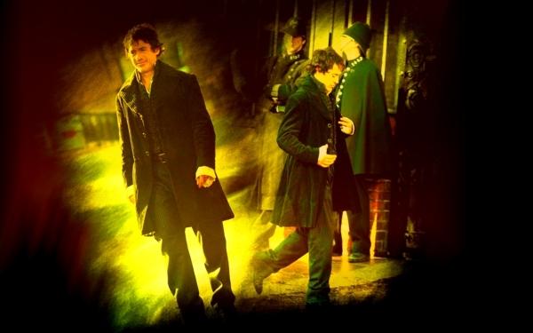 Robert as Sherlock Holmes