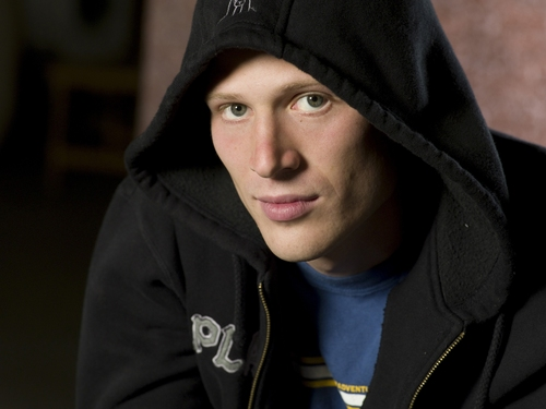 Friday Night Lights wallpaper containing a sweatshirt and a hood entitled S2 Promo:  Zach Gilford
