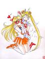 Sailor Venus & Sailor Moon