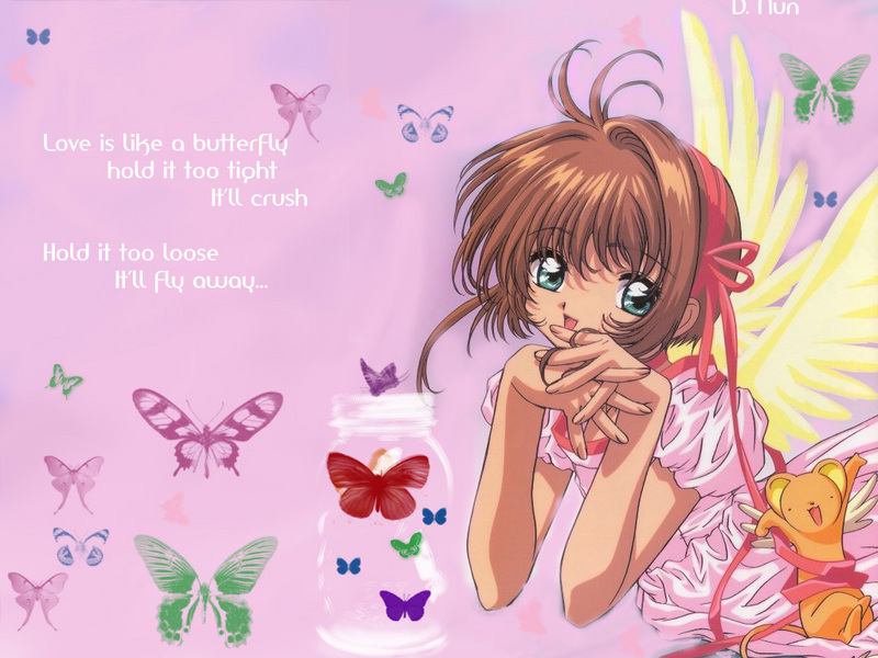 card captor sakura wallpaper. Sakura - Cardcaptor Sakura Wallpaper (5360640) - Fanpop